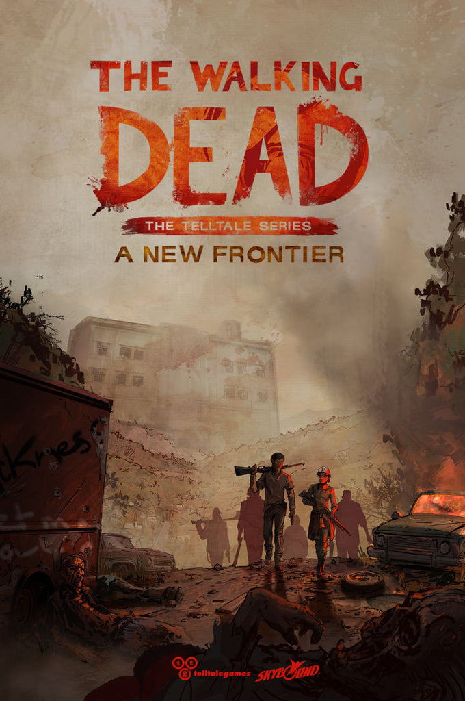 The Walking Dead: A New Frontier Windows PC Game Download Telltale Games CD-Key Global