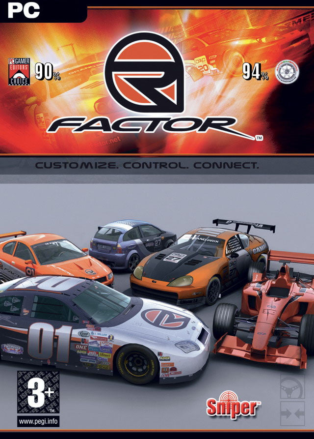 rFactor Windows PC Game Download Steam CD-Key Global