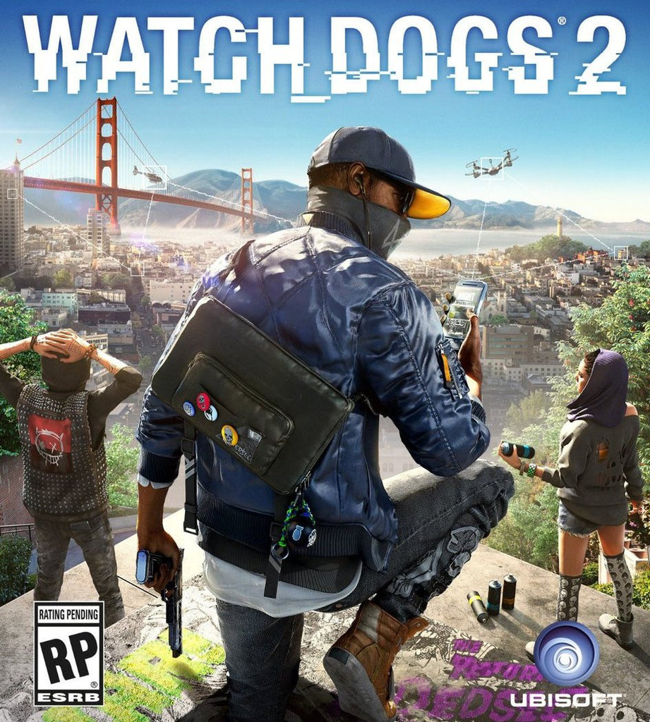 Watch Dogs 2 Windows PC Game Download Uplay CD-Key Global