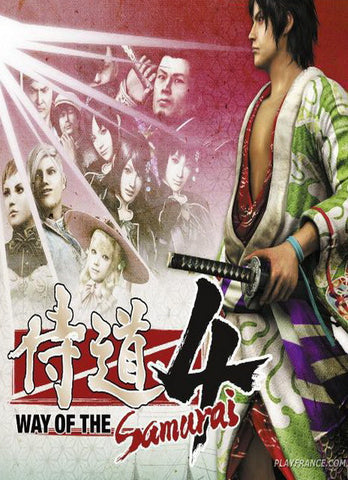 Way of the Samurai 4 Windows PC Game Download GOG CD-Key Global