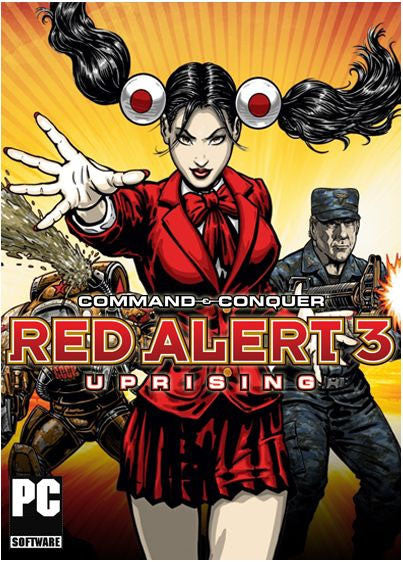 Command & Conquer: Red Alert 3 - Uprising Windows PC Game Download Steam CD-Key Global
