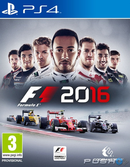 F1 2016 For PlayStation 4 (Physical Disc)