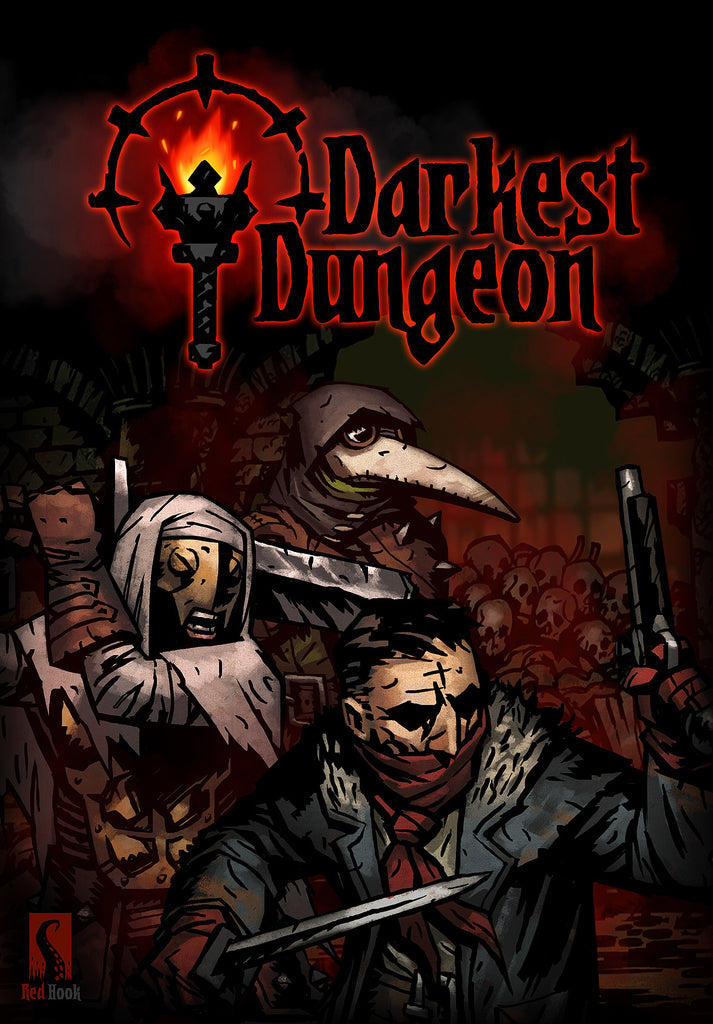 Darkest Dungeon Windows PC Game Download Steam CD-Key Global