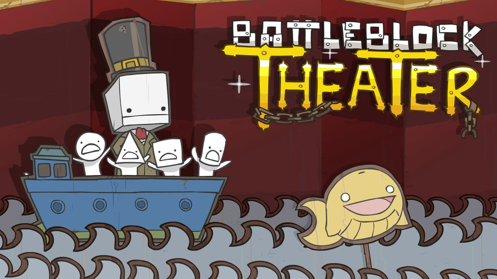 BattleBlock Theater Windows PC Game Download Steam CD-Key Global