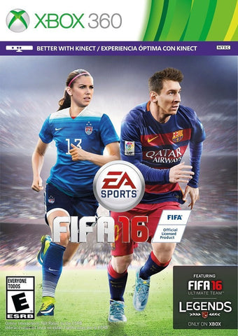Fifa 16 For Xbox 360 (Physical Disc)
