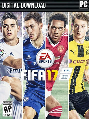 FIFA 17 Windows PC Game Download Origin CD-Key Global