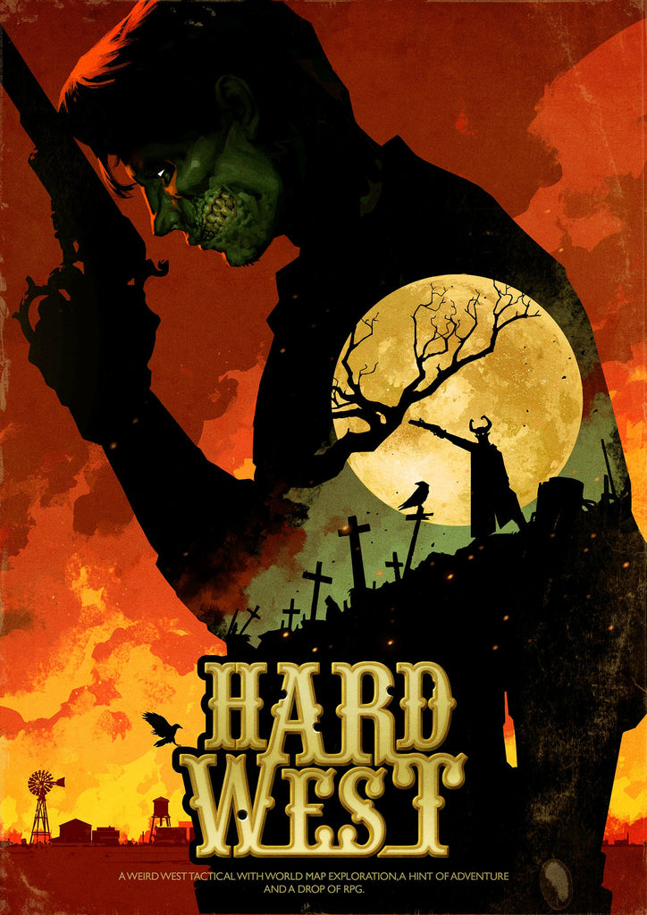 Hard West Collector's Edition Windows PC Game Download Steam CD-Key Global