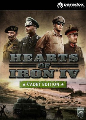 Hearts of Iron IV: Cadet Edition Windows PC Game Download Steam CD-Key Global