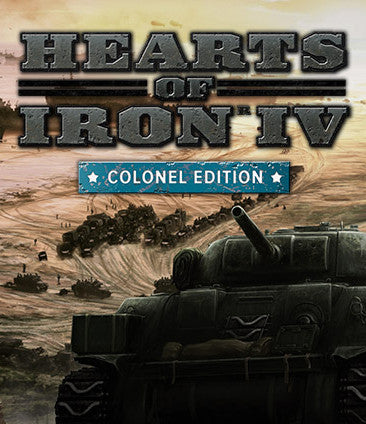Hearts of Iron IV: Colonel Edition Windows PC Game Download Steam CD-Key Global