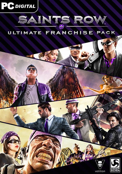 Saints Row Ultimate Franchise Pack Windows PC Game Download Steam CD-Key Global