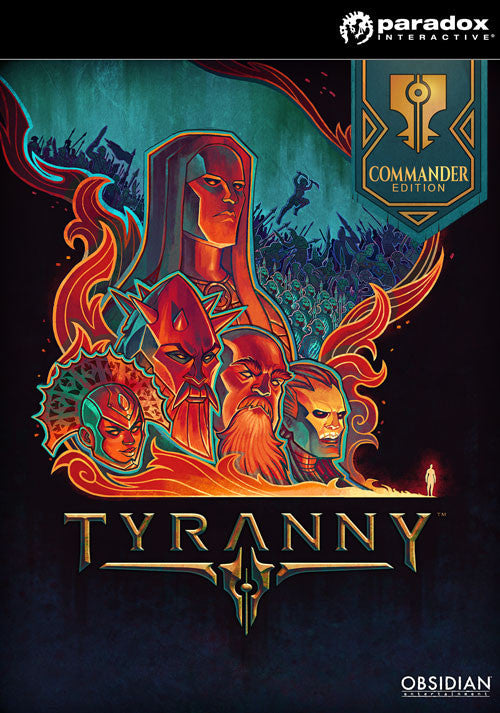 Tyranny - Commander Edition Windows PC Game Download Steam CD-Key Global