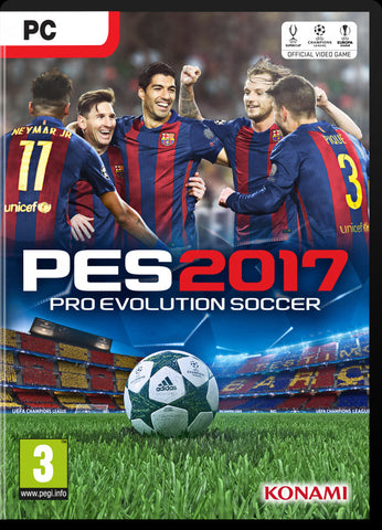 Pro Evolution Soccer 2017 Windows PC Game Download Steam CD-Key Global