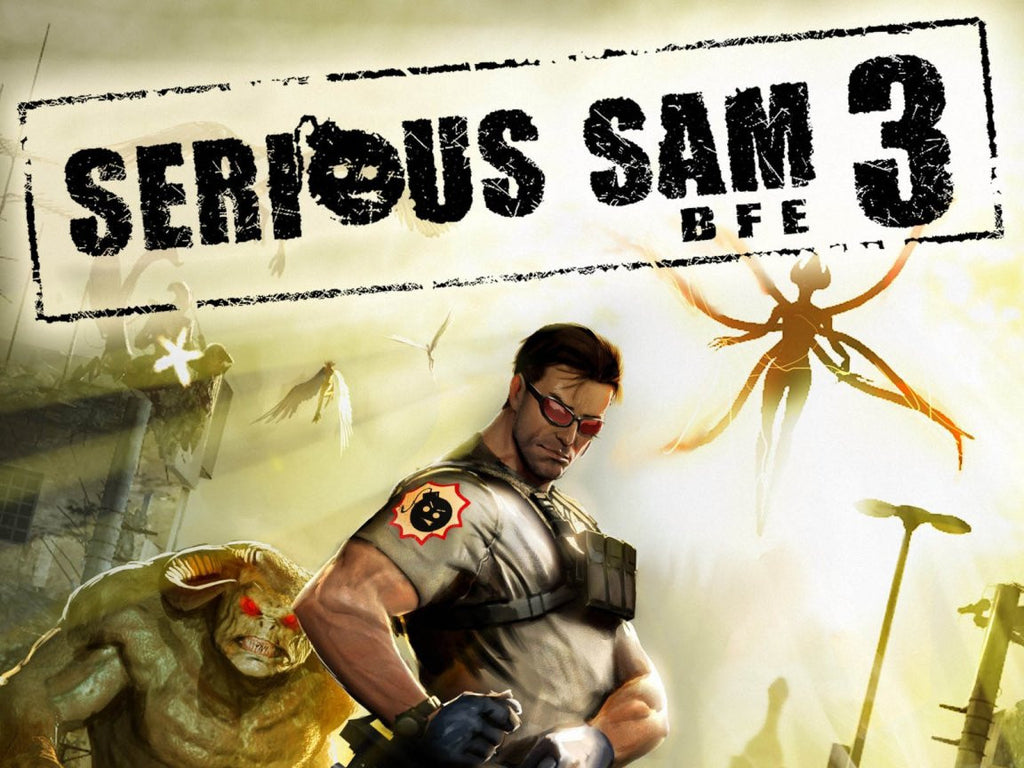 Serious Sam 3: BFE Windows PC Game Download Steam CD-Key Global
