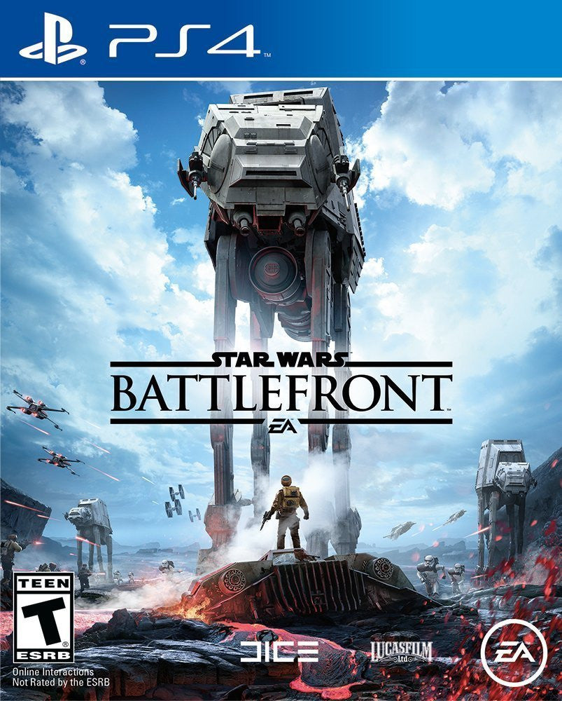 Star Wars: Battlefront - Standard Edition For PlayStation 4 (Physical Disc)