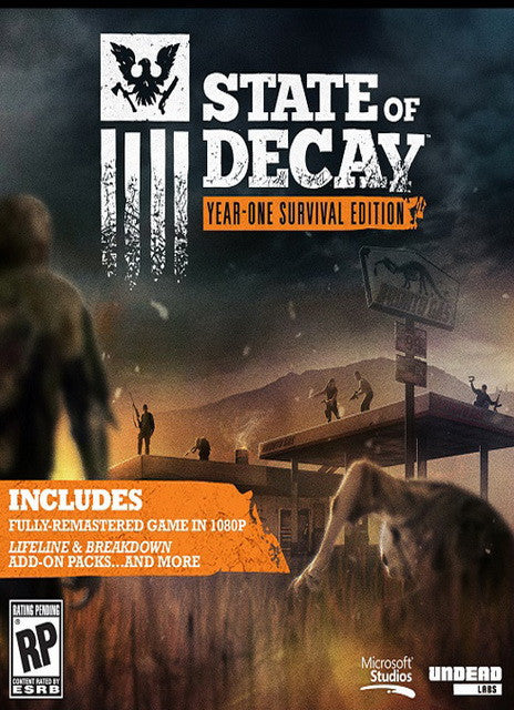 State of Decay: YOSE Day One Edition Windows PC Game Download Steam CD-Key Global