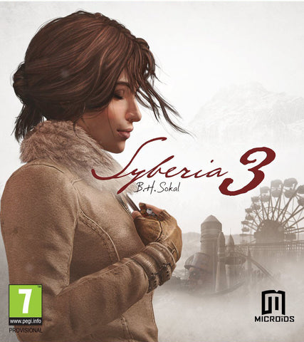 Syberia 3 Pre-Order Windows PC Game Download Steam CD-Key Global