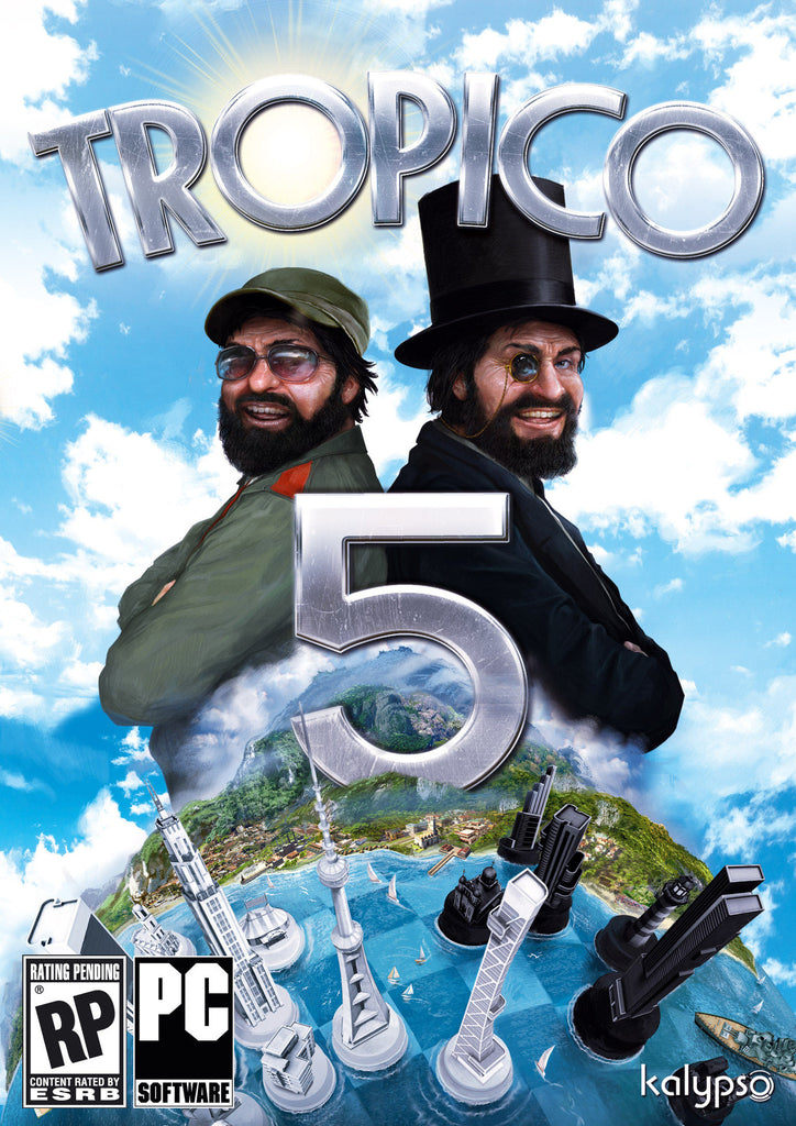 Tropico 5 Windows PC Game Download Steam CD-Key Global