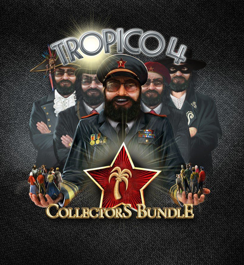 Tropico 4 Collector's Bundle Windows PC Game Download Steam CD-Key Global