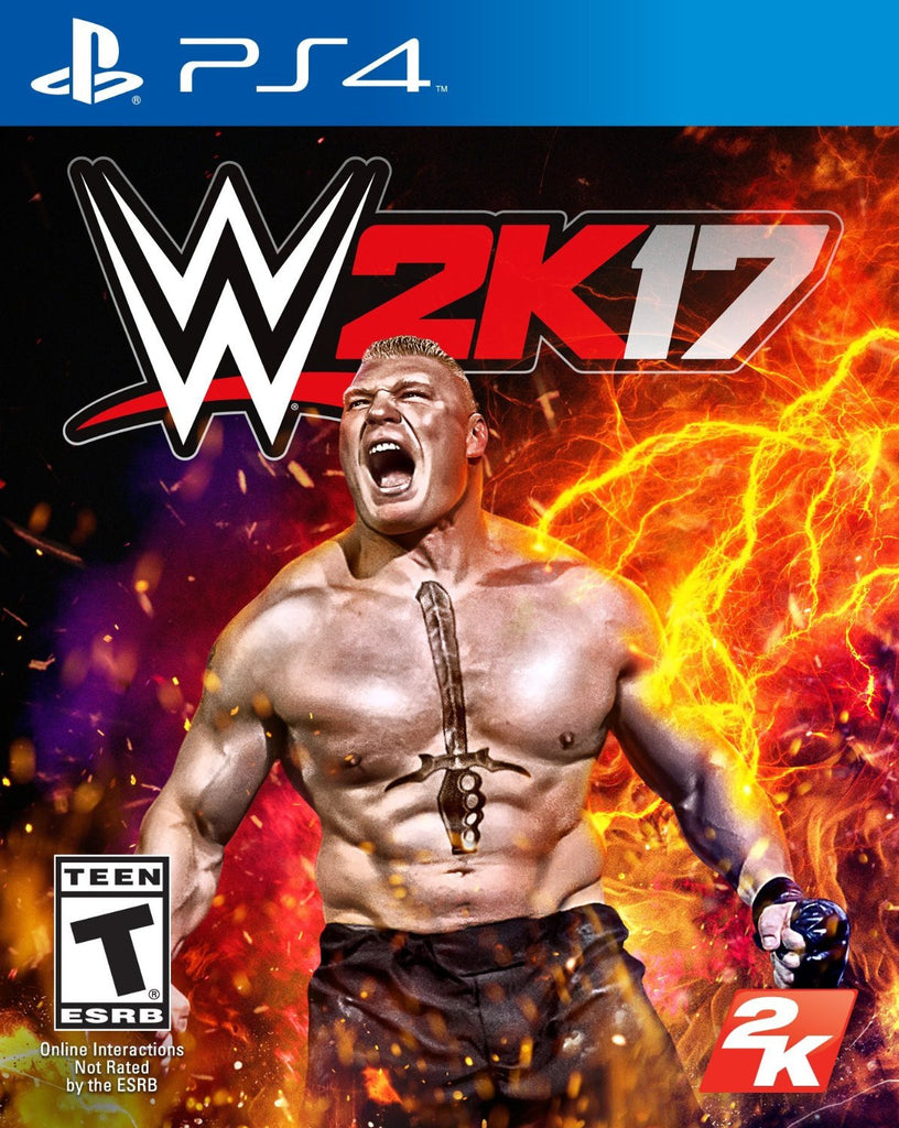 WWE 2K17 For PlayStation 4 (Physical Disc)