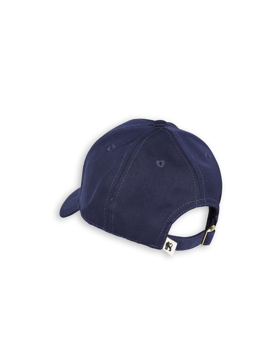 Bat embroidery cap Navy
