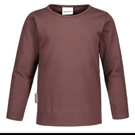 TRICOT T-shirt LS Basic, Coffee