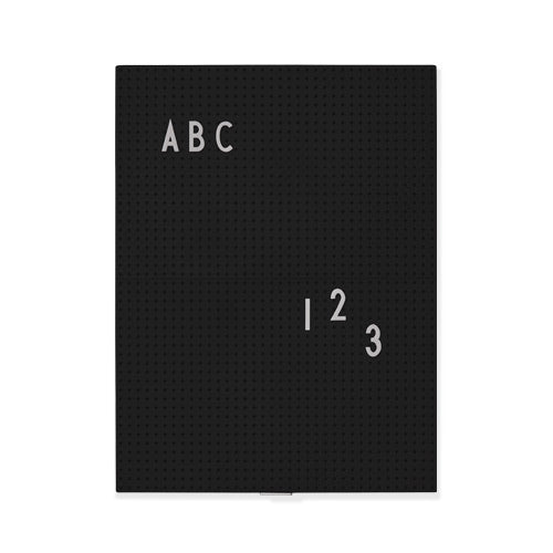 Message board A4 Black