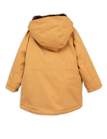 Duck parka, brown