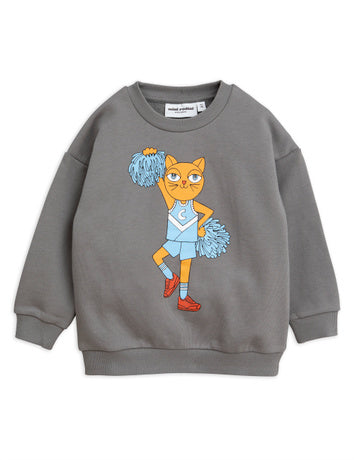 Cheercat sp sweatshirt, grey