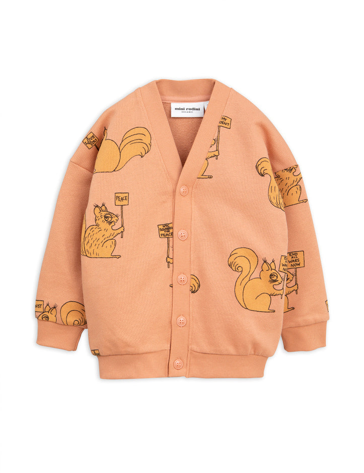 Squirrel cardigan, beige