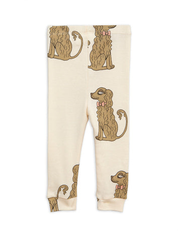Spaniel leggings, offwhite