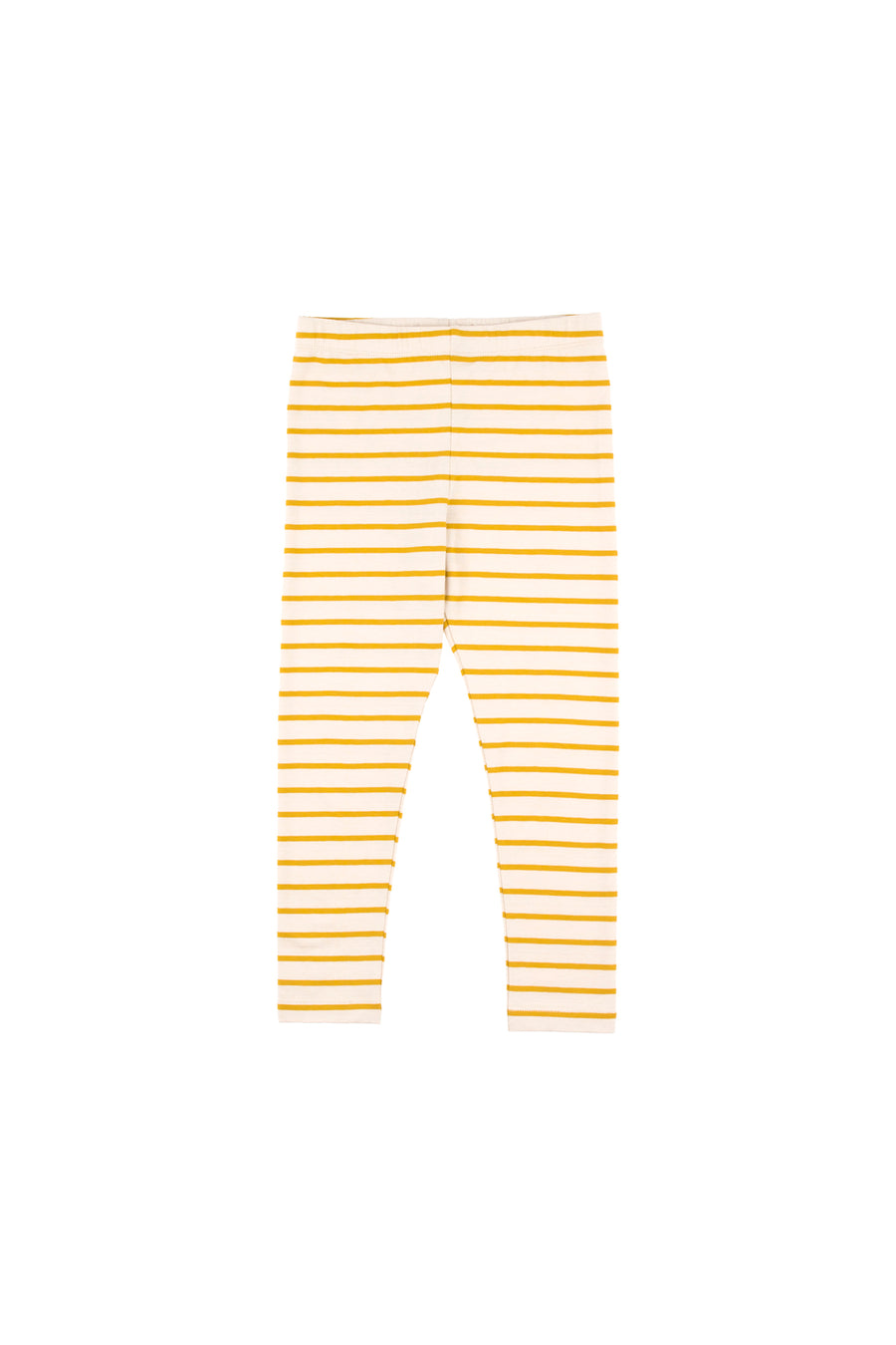 Small stripes pant, beige/mustard