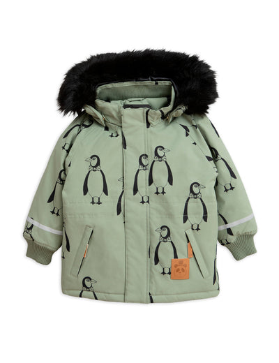 K2 penguin parka, green