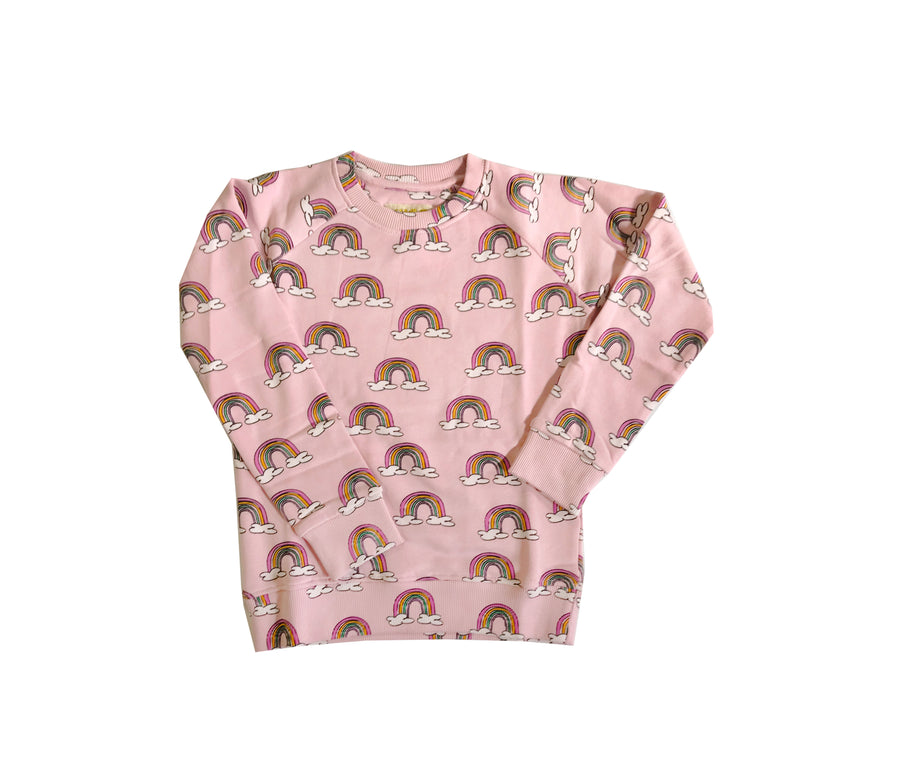 Sweatshirt Pink rainbows