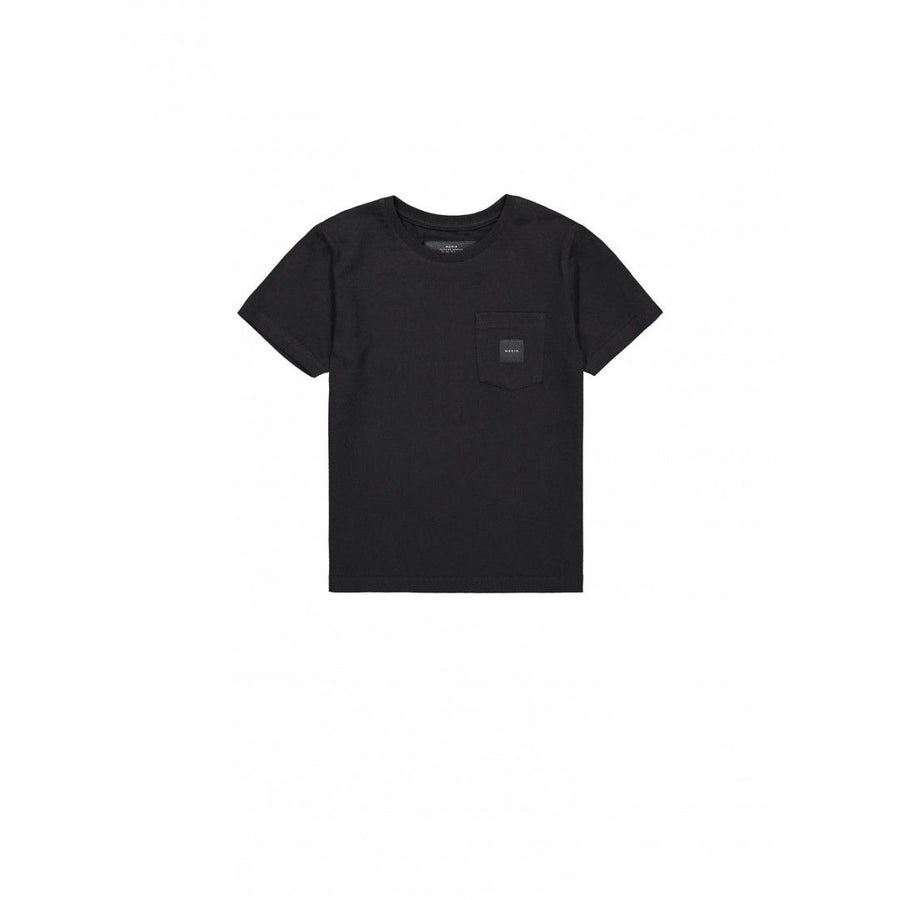 SQUARE POCKET T-SHIRT, black