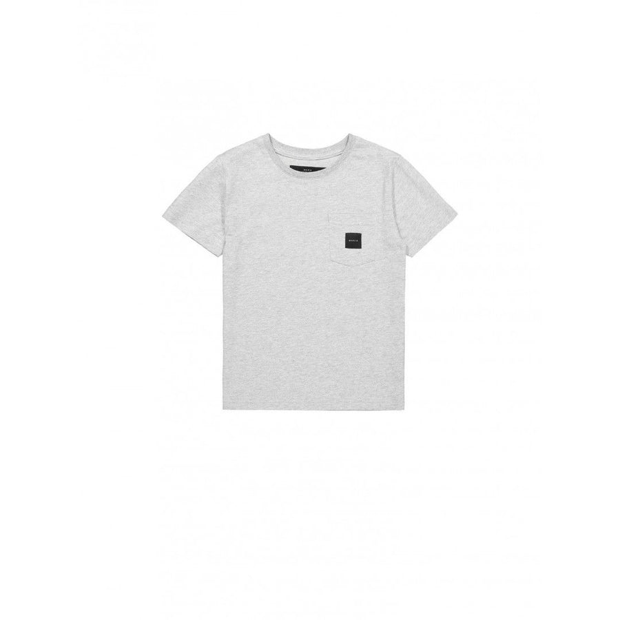 SQUARE POCKET T-SHIRT, grey