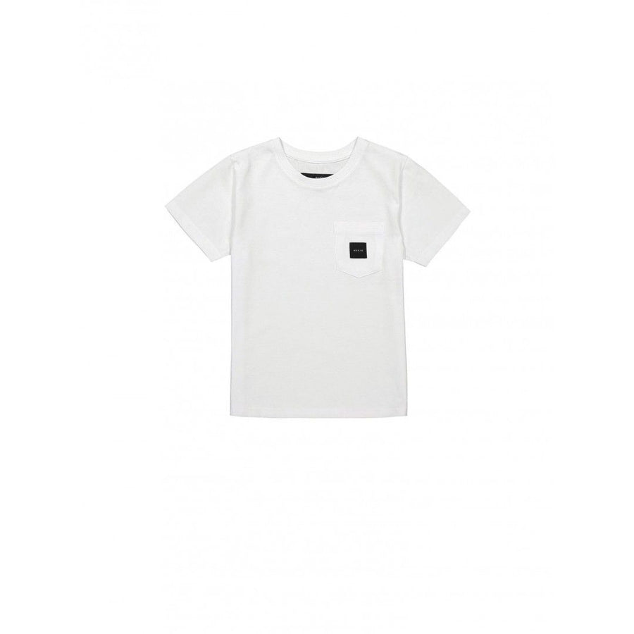 SQUARE POCKET T-SHIRT, white