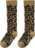 Brown Leopard Knee Socks