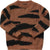 Brown Tiger Knit Sweater