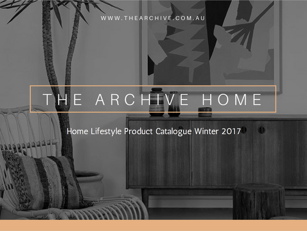 Home Lifestyle Catalogue Winter 2017