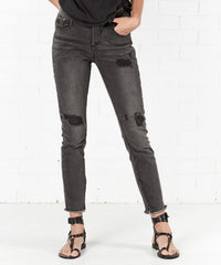 ONE TEASPOON - PHANTOM FREEBIRDS HIGH WAIST SKINNY JEAN