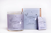 BON LUX - Candle & Match Set 'sweet smoke'