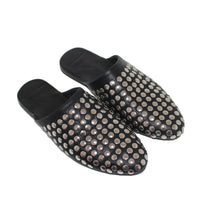 ISLE and ARLO - NOIRE STUDDED MULE