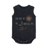 CHILDREN OF THE TRIBE - SOL LUNA SINGLET ONESIE