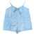 CHILDREN OF THE TRIBE - CHAMBRAY STONE PLAYSUIT