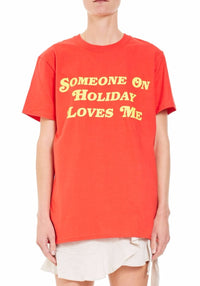 HOLIDAY BY EMMA MULHOLLAND - Loves Me Tee (RED)