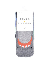 BILLY LOVES AUDREY - Shark Socks