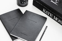 NEW LEATHER LOOK LINED NOTEBOOK