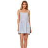 BEC AND BRIDGE - ISABELLA DAY DRESS (Blue Stripe)