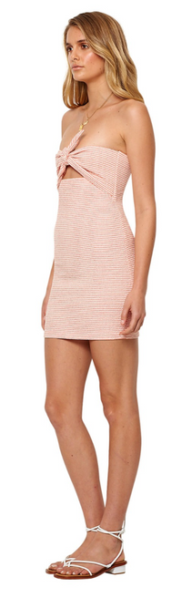 BEC AND BRIDGE - PEACHES AND CREAM DRESS (Stripe)