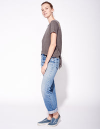 Sundry - PLAY NICE TIE BACK TEE